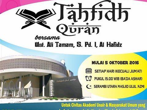 Tahfidh Quran Universitas Airlangga